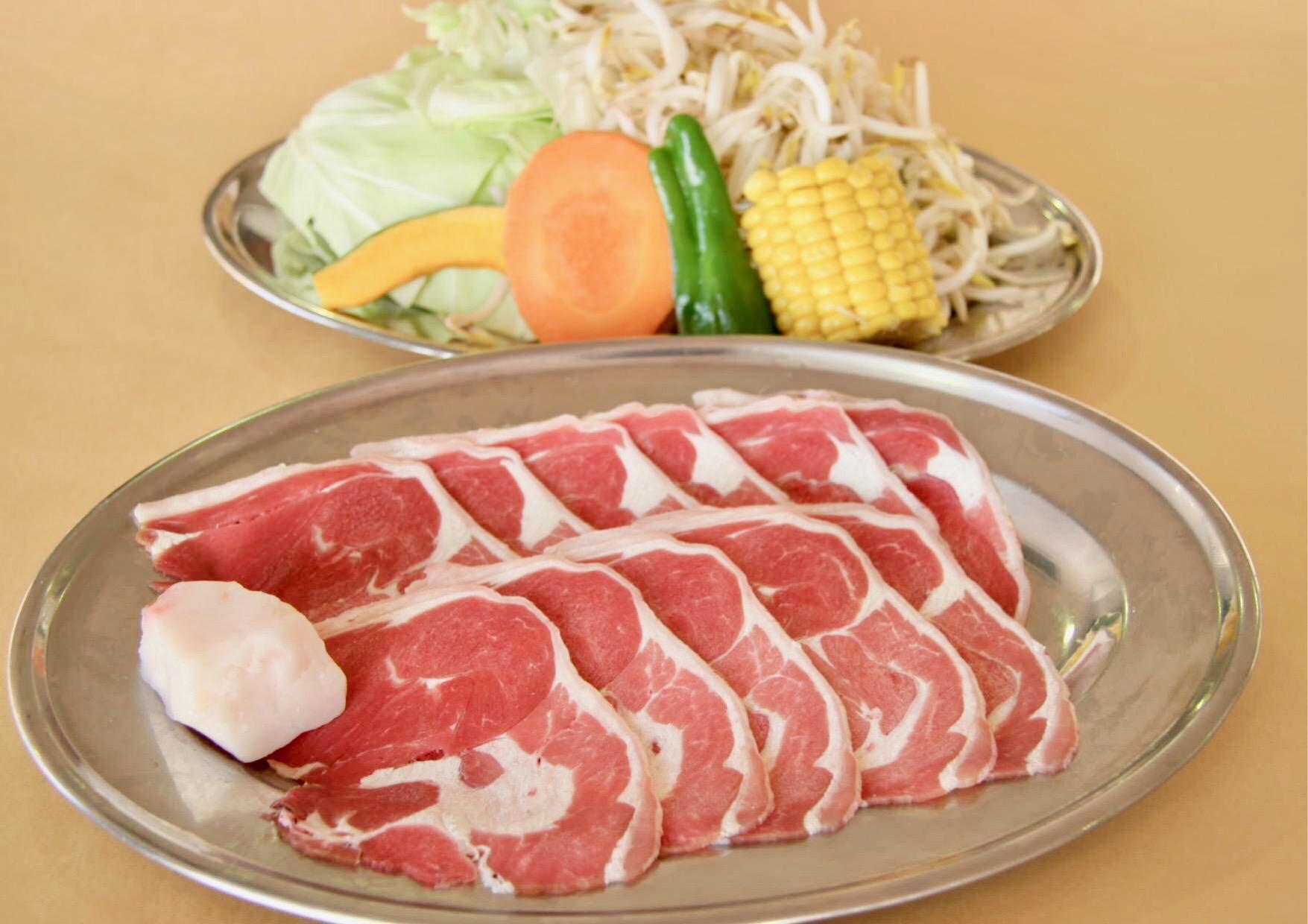 Lamb BBQ set